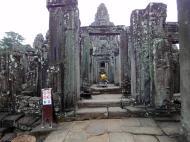 Asisbiz Bayon Temple eastern gopura Buddha statue Angkor Jan 2010 01