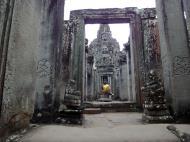 Asisbiz Bayon Temple eastern gopura Buddha statue Angkor Jan 2010 03