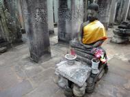 Asisbiz Bayon Temple eastern gopura Buddha statue Angkor Jan 2010 07