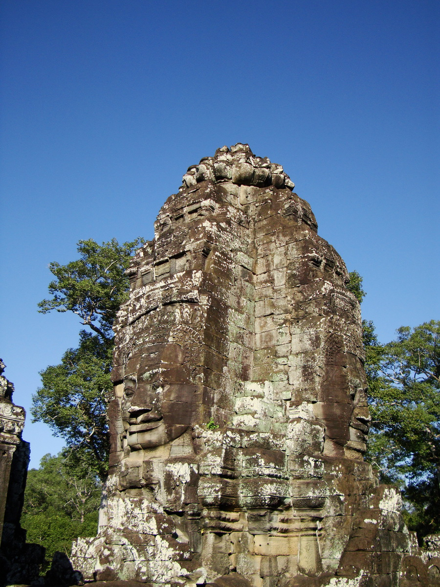 Bayon Temple NW inner gallery face towers Angkor Siem Reap 15