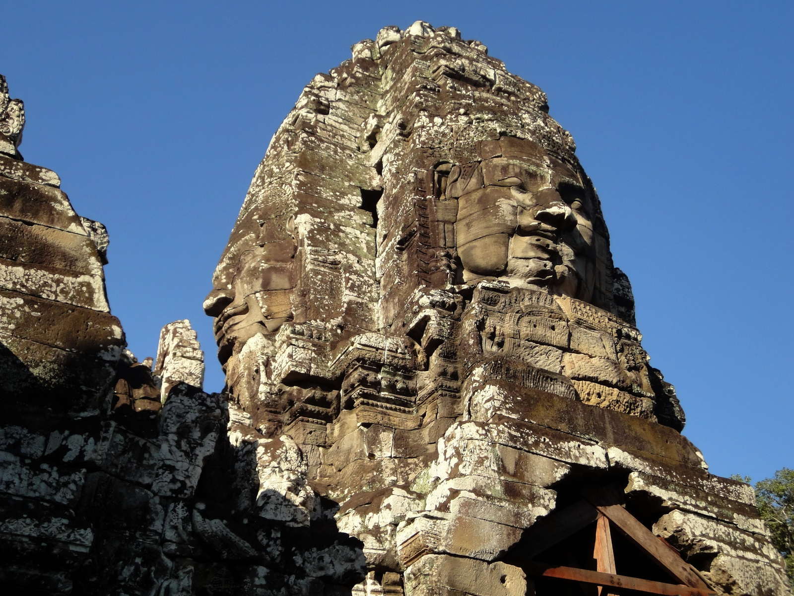 Bayon Temple NW inner gallery face towers Angkor Siem Reap 21