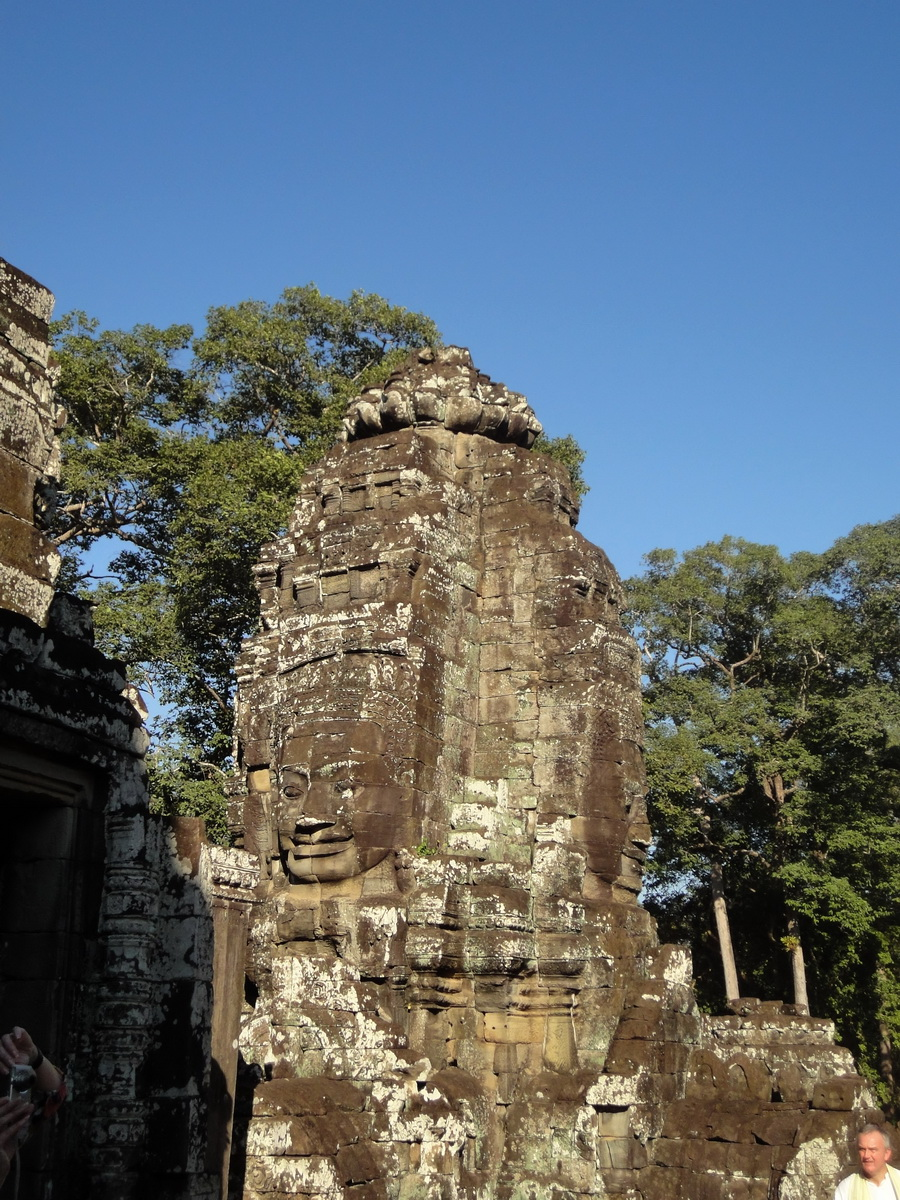 Bayon Temple NW inner gallery face towers Angkor Siem Reap 22