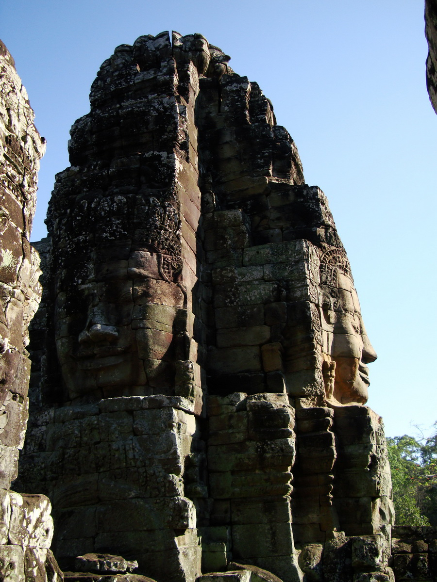 Bayon Temple NW inner gallery face towers Angkor Siem Reap 28