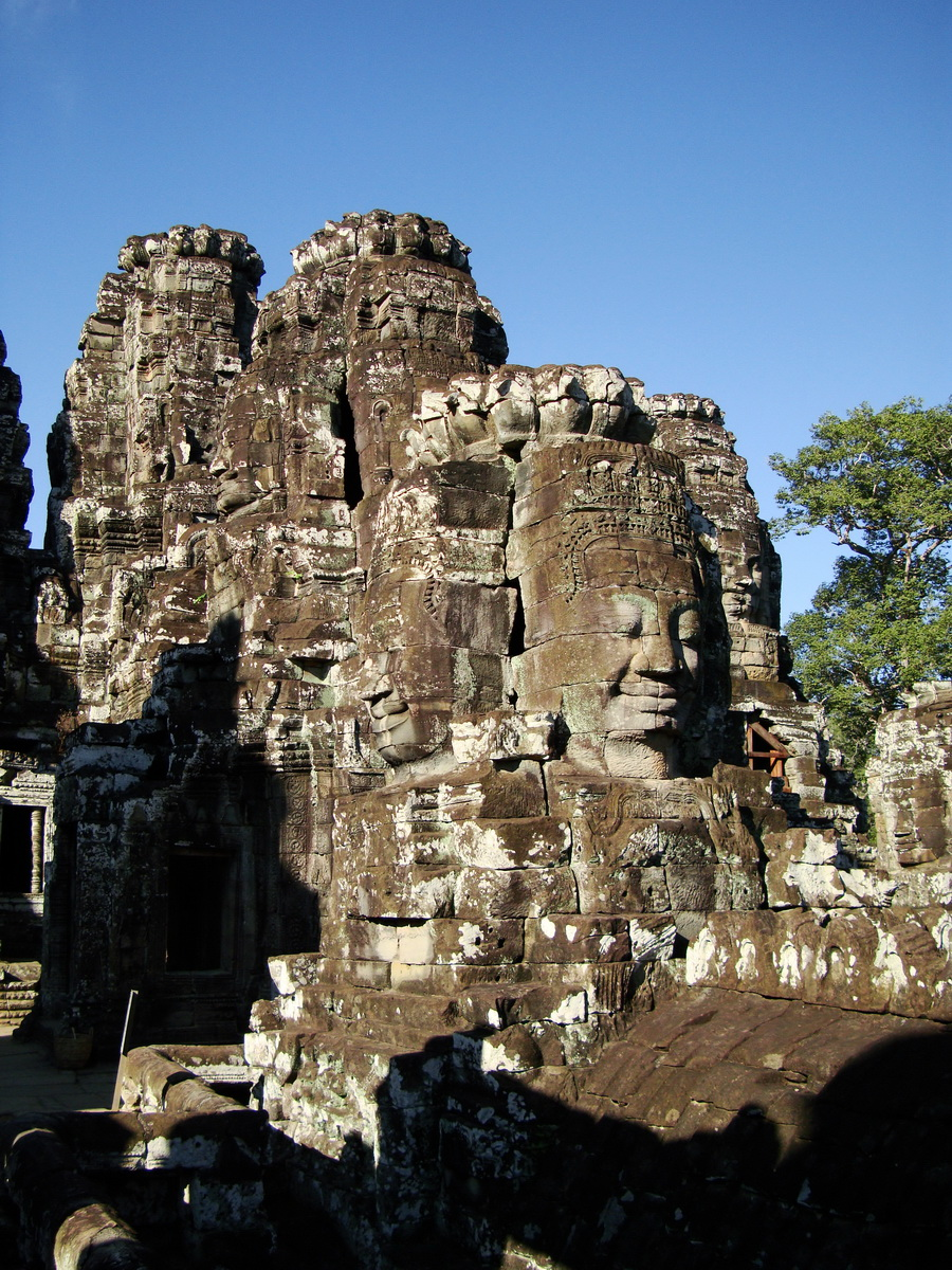 Bayon Temple NW inner gallery face towers Angkor Siem Reap 51