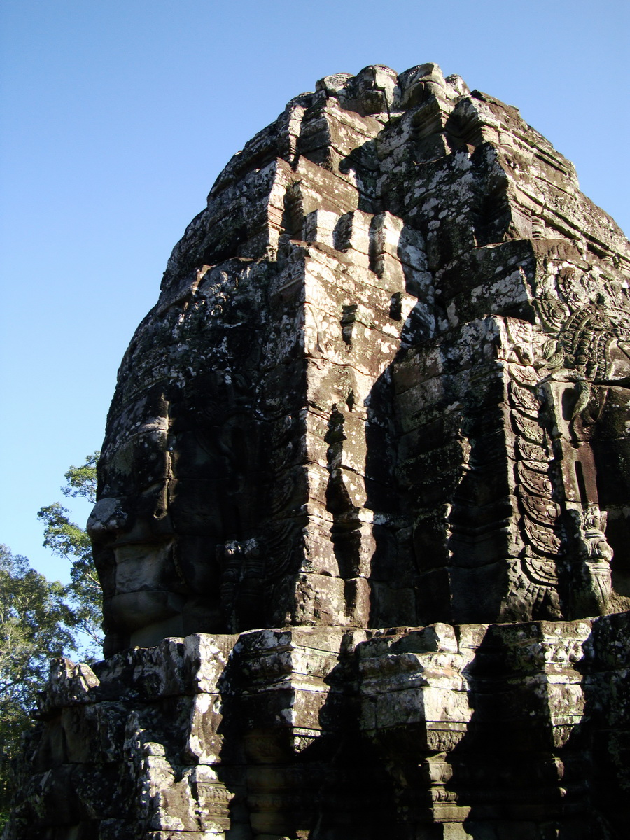 Bayon Temple NW inner gallery face towers Angkor Siem Reap 55