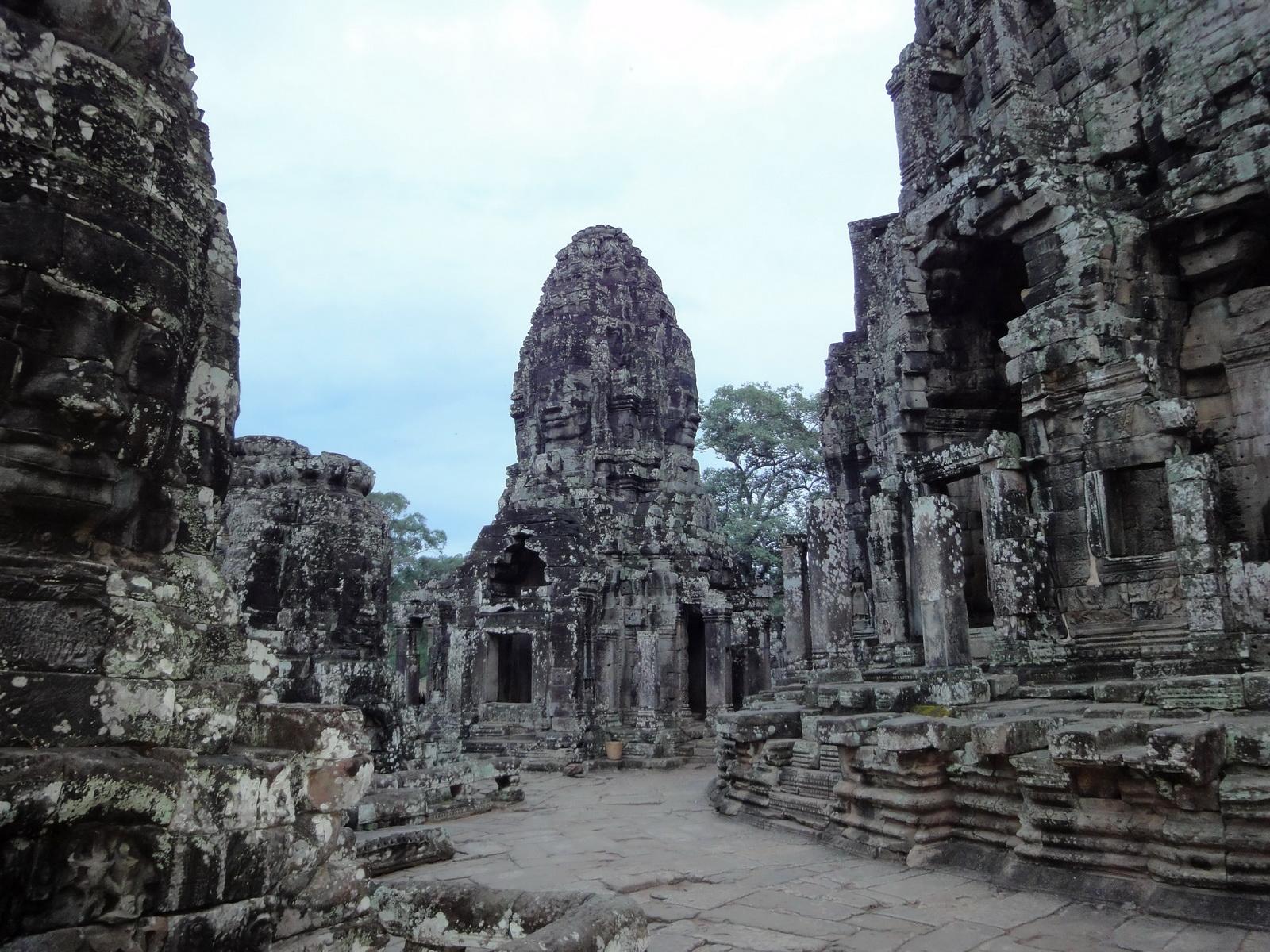 Bayon Temple upper terrace Angkor Siem Reap 03