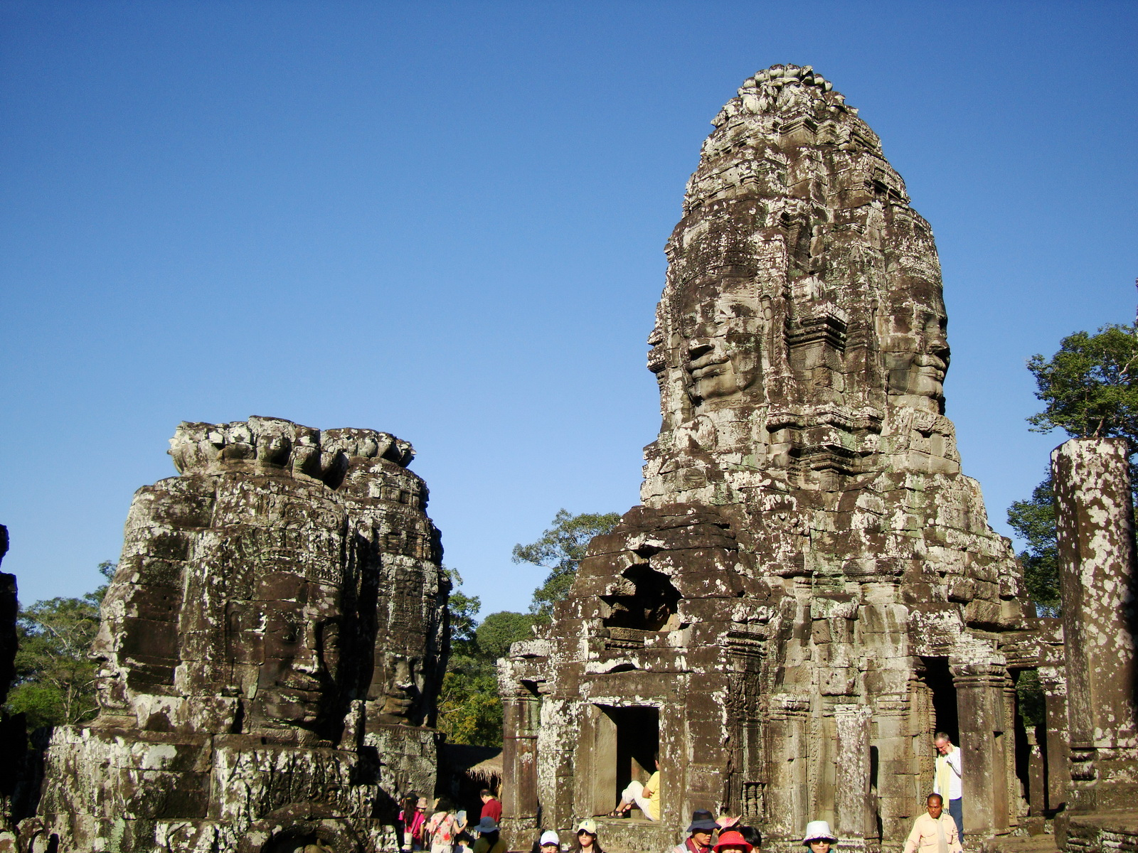 Bayon Temple upper terrace Angkor Siem Reap 04