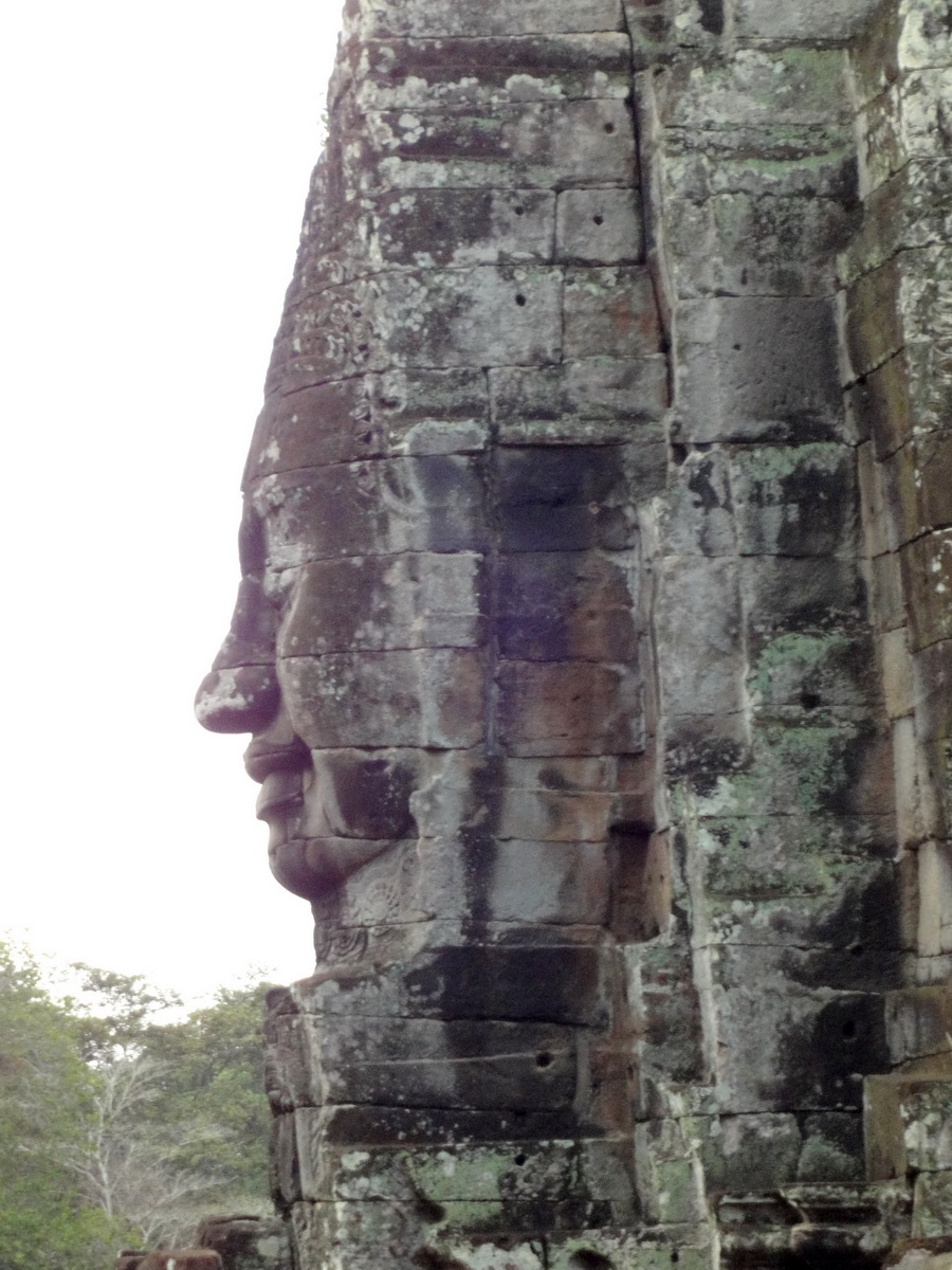 Bayon Temple various aspects face towers Angkor Siem Reap 03