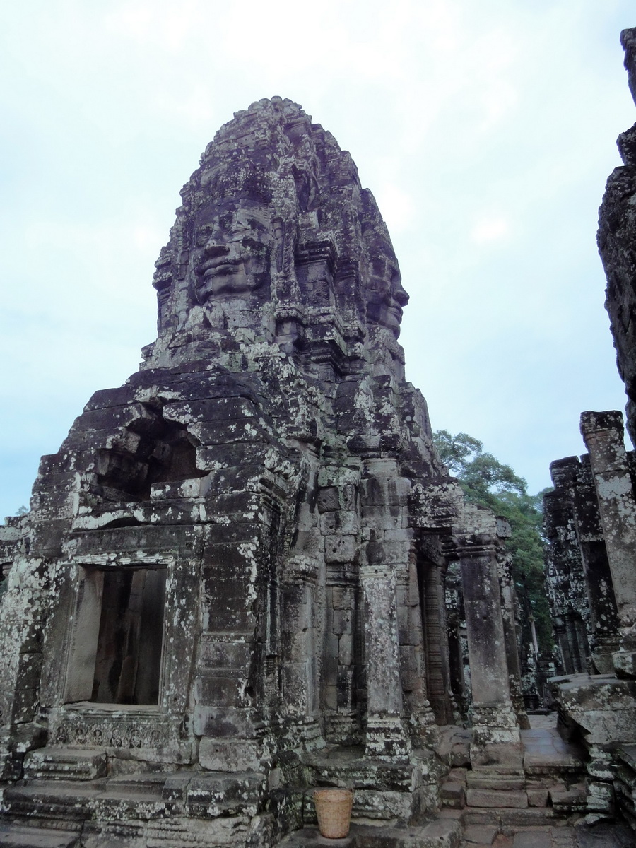 Bayon Temple various aspects face towers Angkor Siem Reap 05