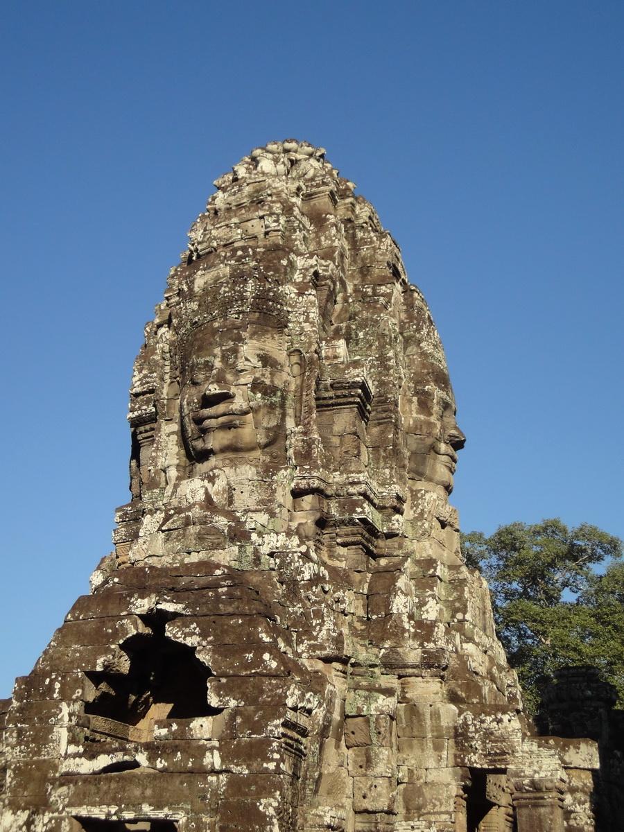 Bayon Temple various aspects face towers Angkor Siem Reap 13