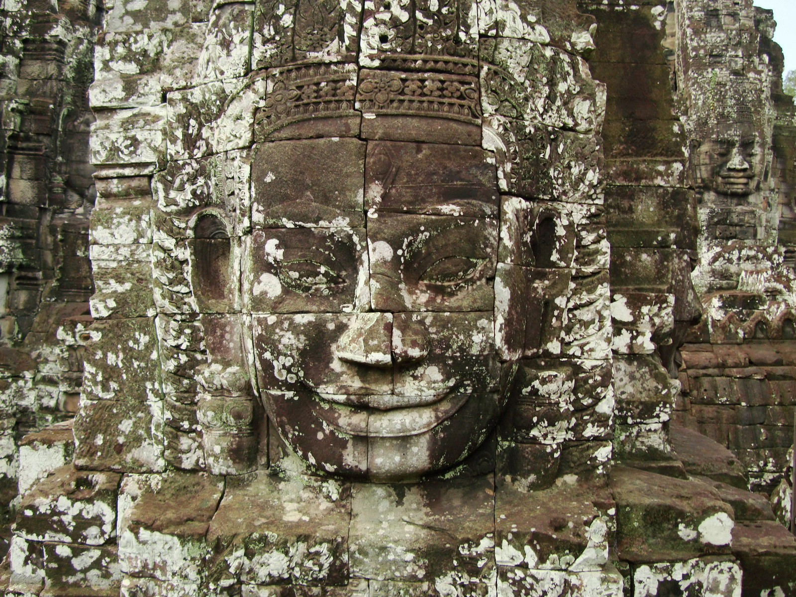 Bayon Temple various aspects face towers Angkor Siem Reap 16