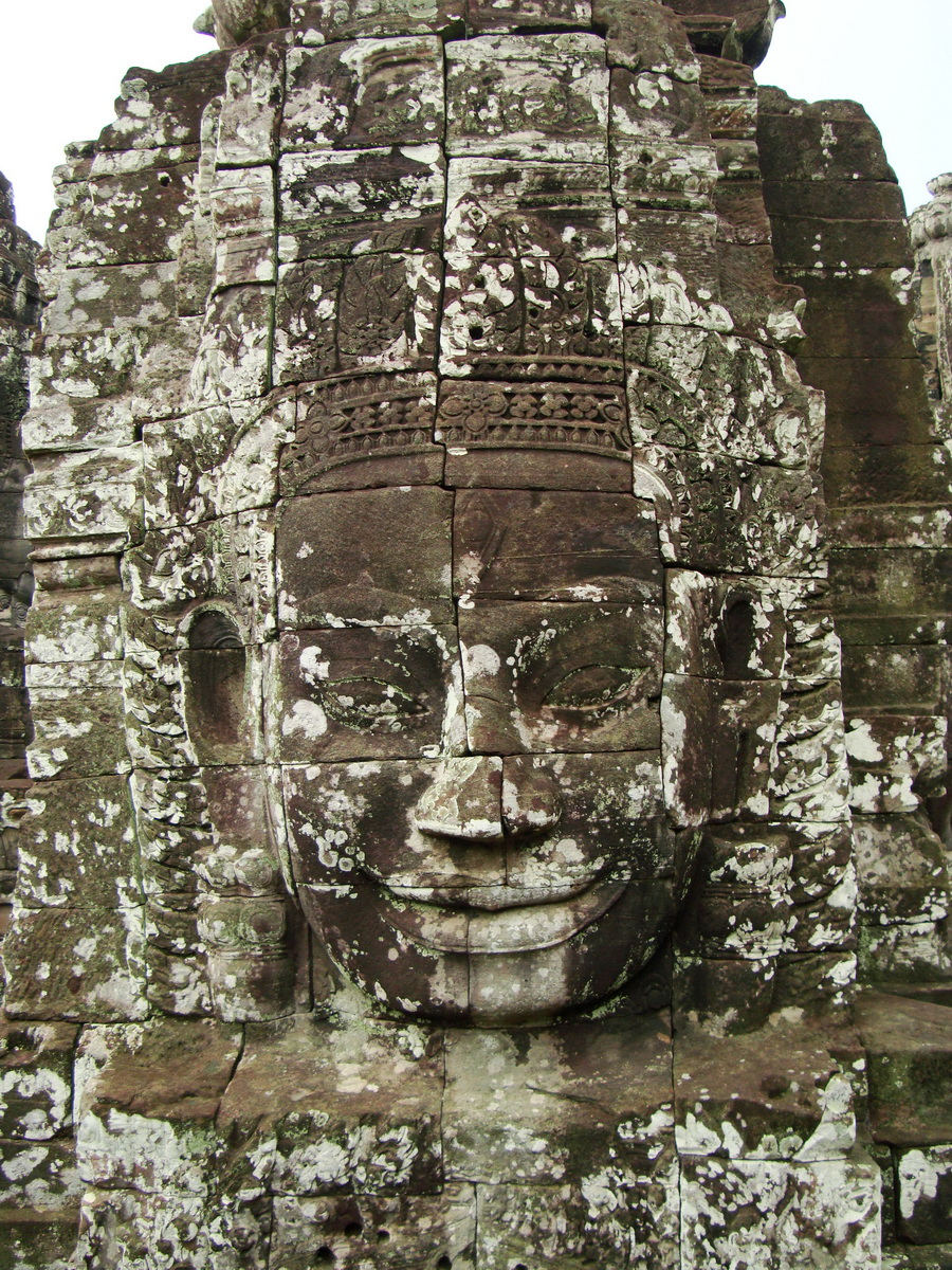 Bayon Temple various aspects face towers Angkor Siem Reap 17