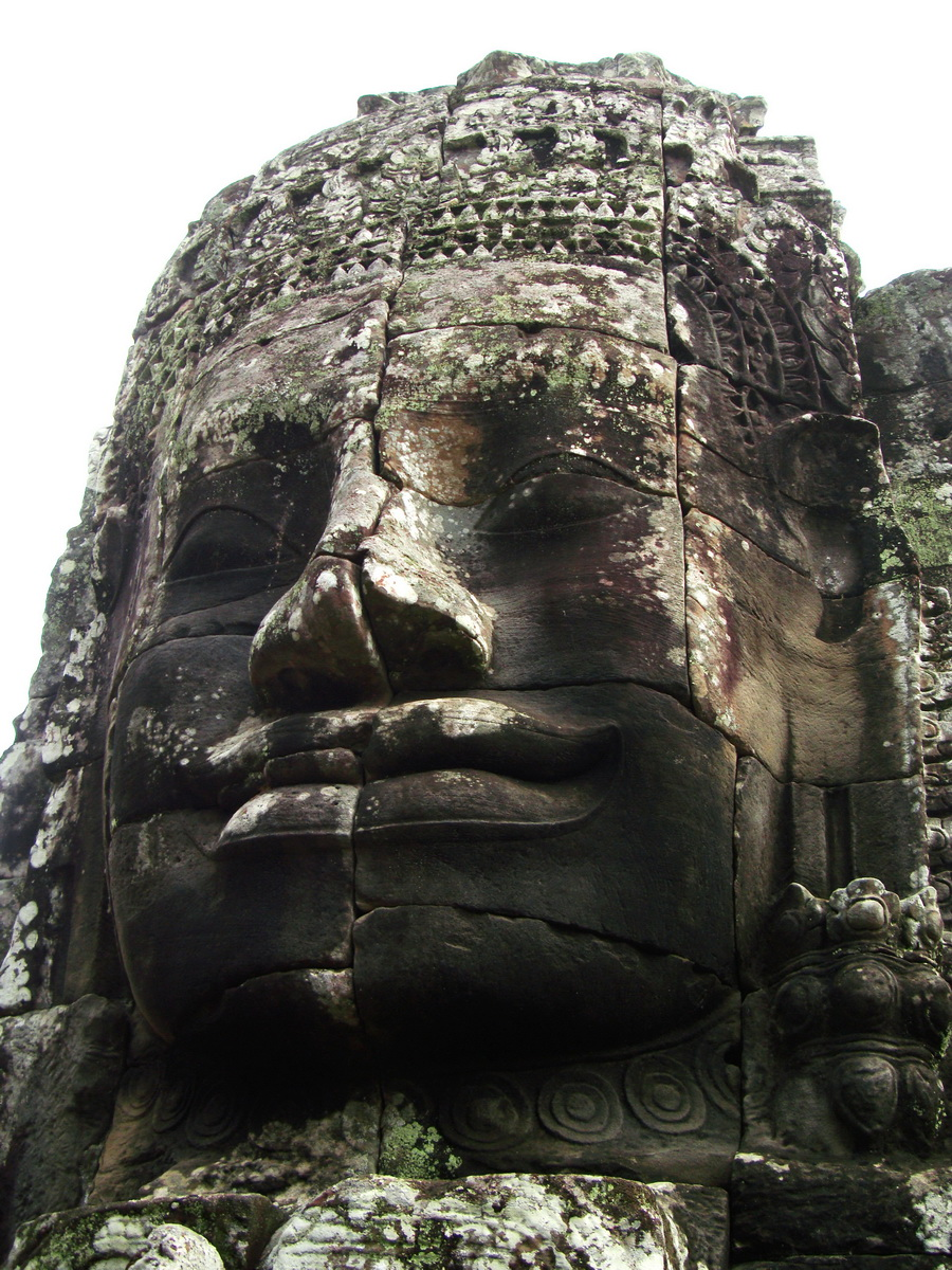 Bayon Temple various aspects face towers Angkor Siem Reap 18