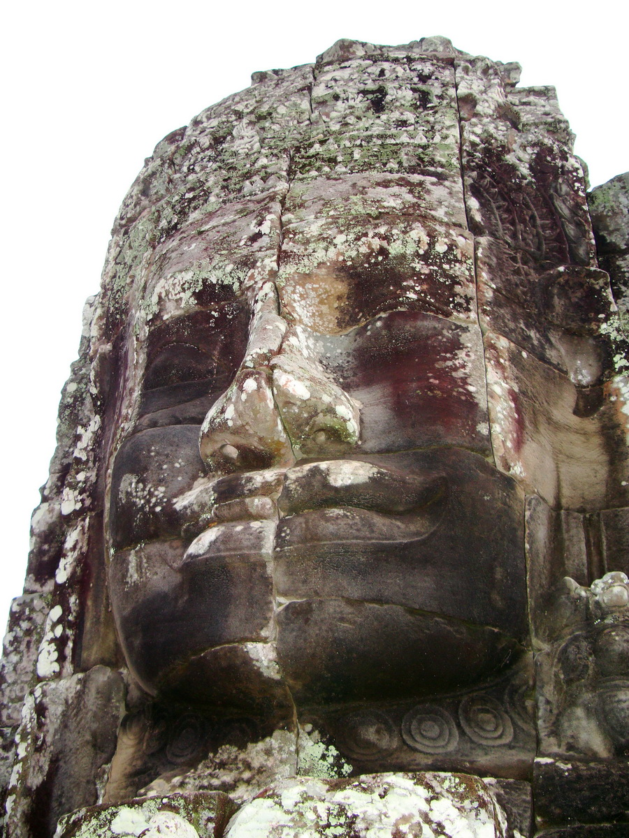 Bayon Temple various aspects face towers Angkor Siem Reap 19