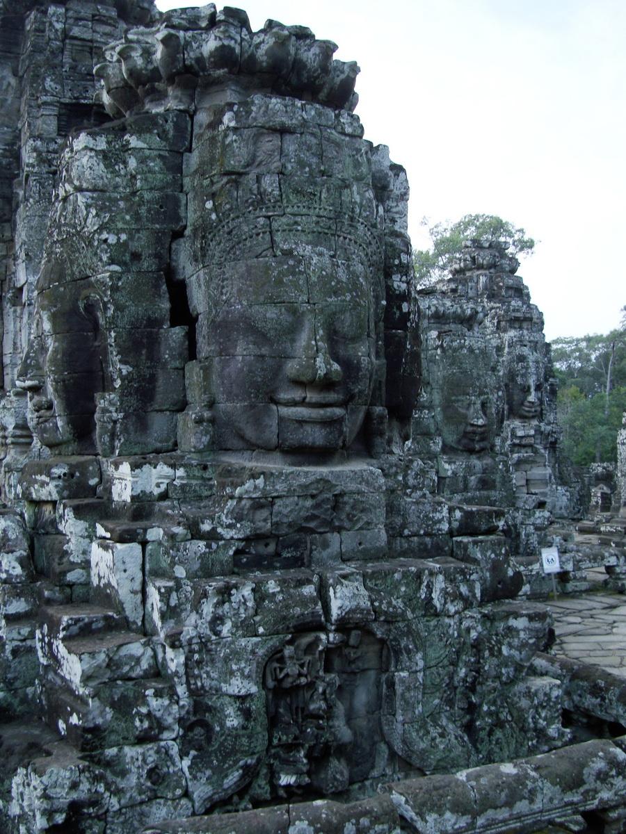 Bayon Temple various aspects face towers Angkor Siem Reap 22