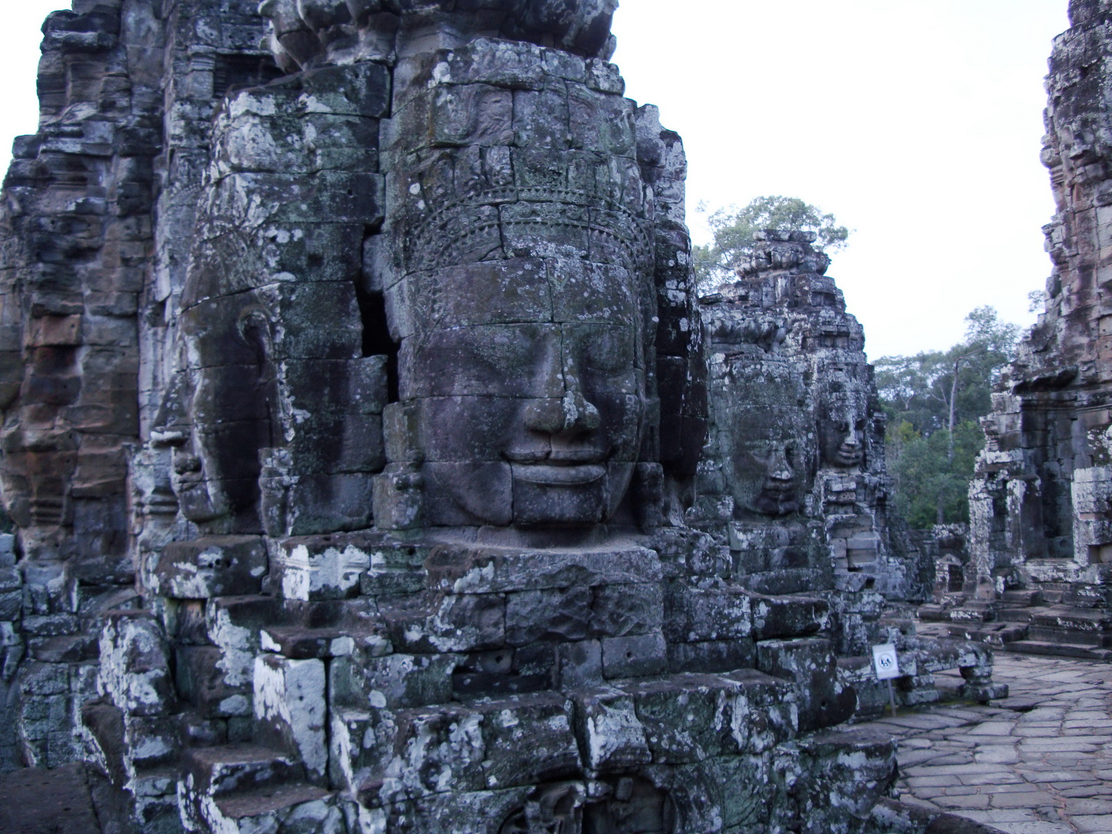 Bayon Temple various aspects face towers Angkor Siem Reap 23
