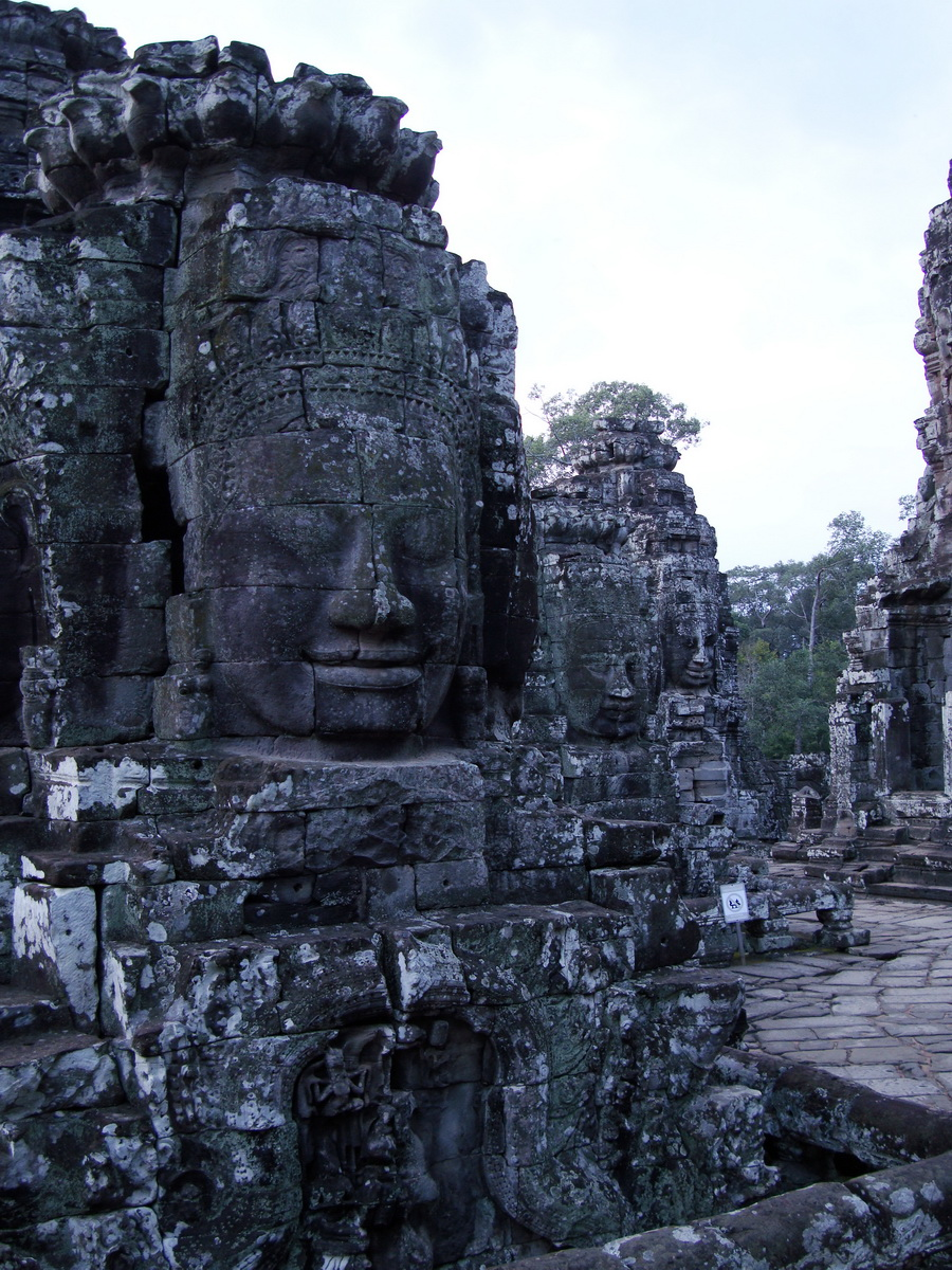 Bayon Temple various aspects face towers Angkor Siem Reap 24