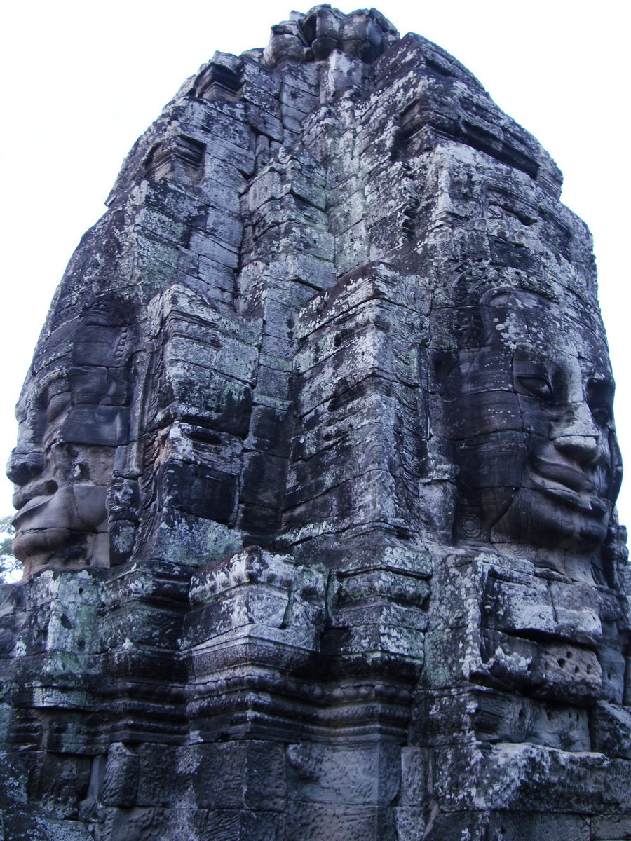 Bayon Temple various aspects face towers Angkor Siem Reap 25