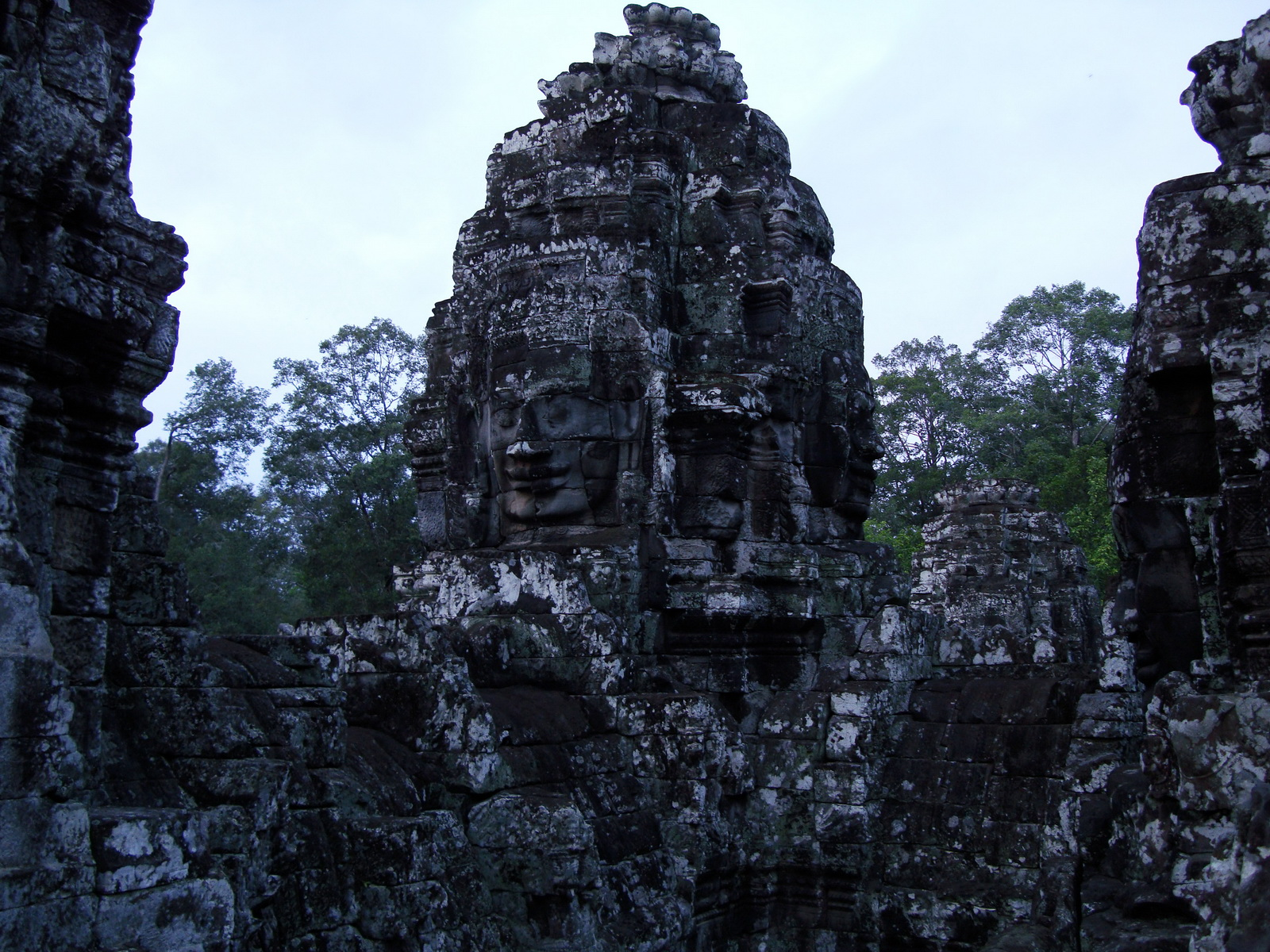 Bayon Temple various aspects face towers Angkor Siem Reap 26
