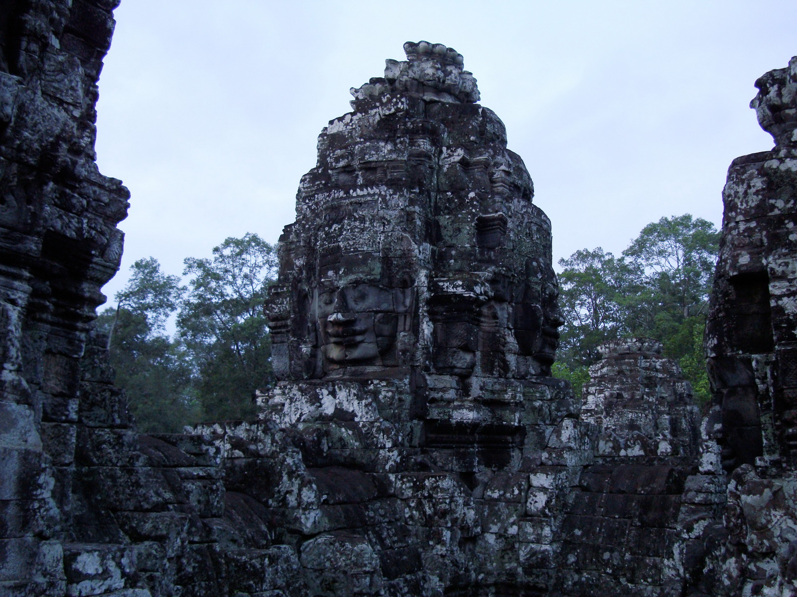 Bayon Temple various aspects face towers Angkor Siem Reap 27