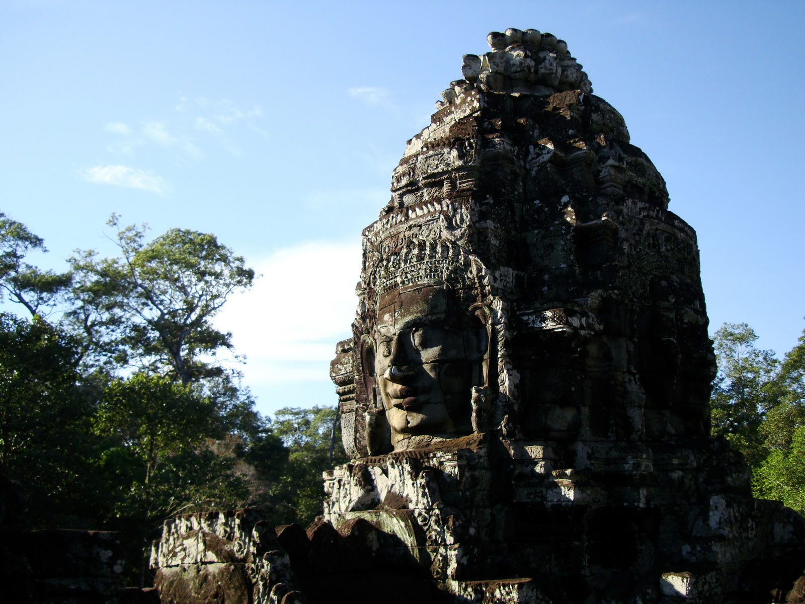 Bayon Temple various aspects face towers Angkor Siem Reap 29