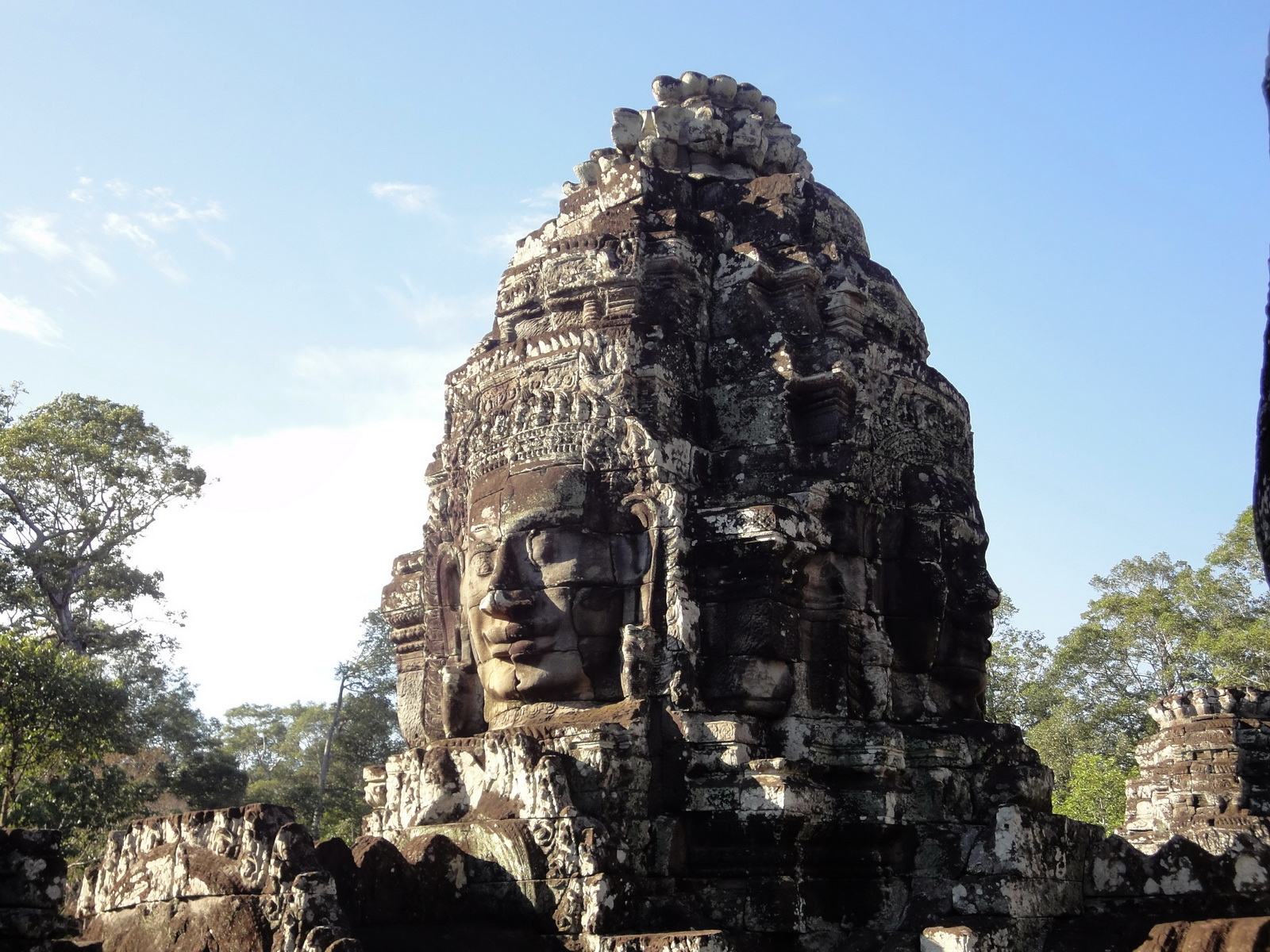 Bayon Temple various aspects face towers Angkor Siem Reap 30
