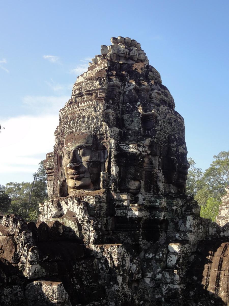 Bayon Temple various aspects face towers Angkor Siem Reap 31