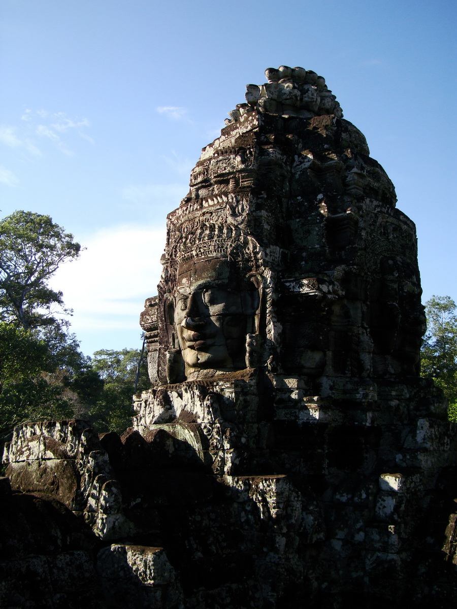 Bayon Temple various aspects face towers Angkor Siem Reap 32