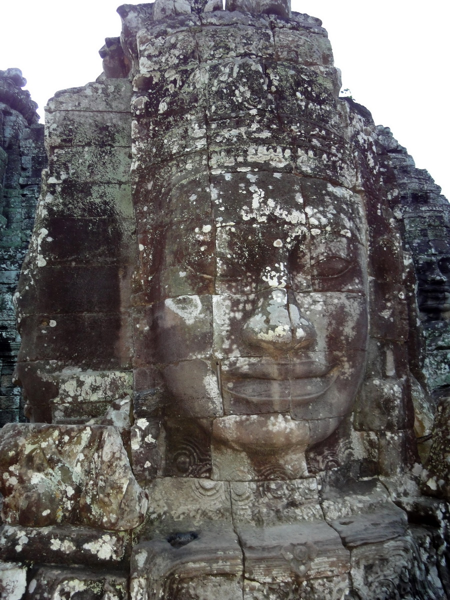 Bayon Temple various aspects face towers Angkor Siem Reap 35