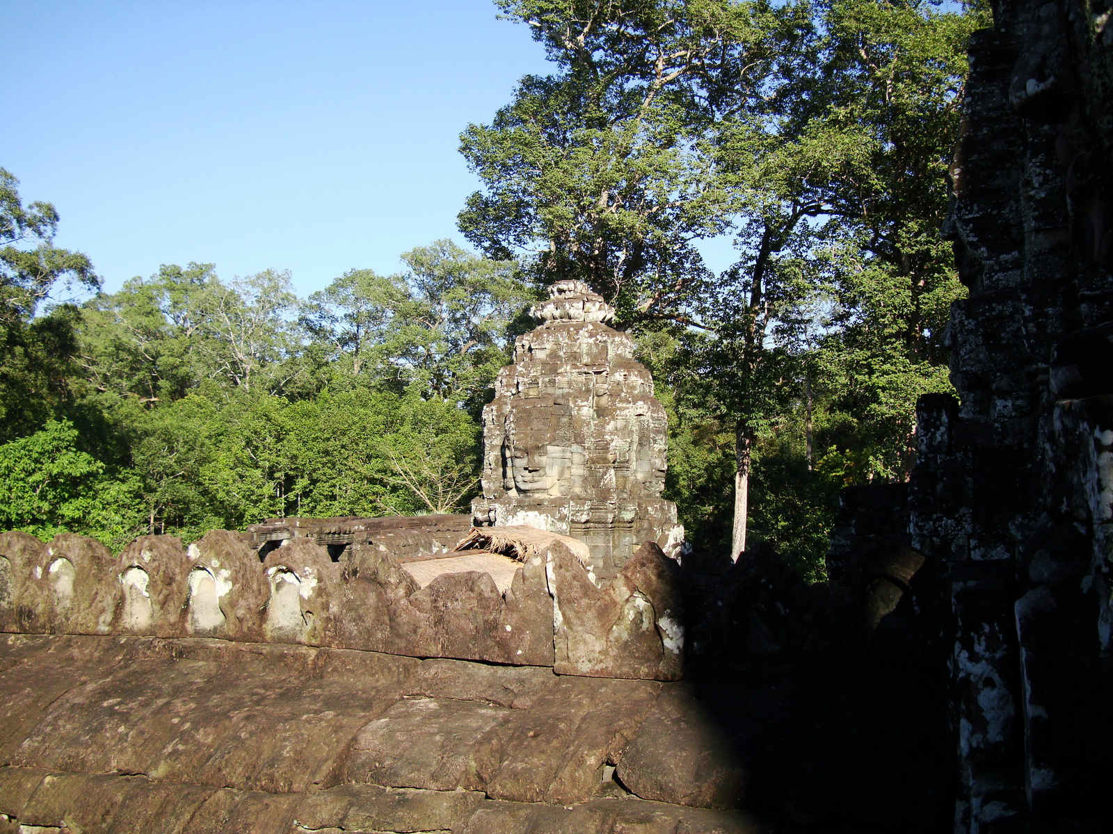 Bayon Temple various aspects face towers Angkor Siem Reap 37