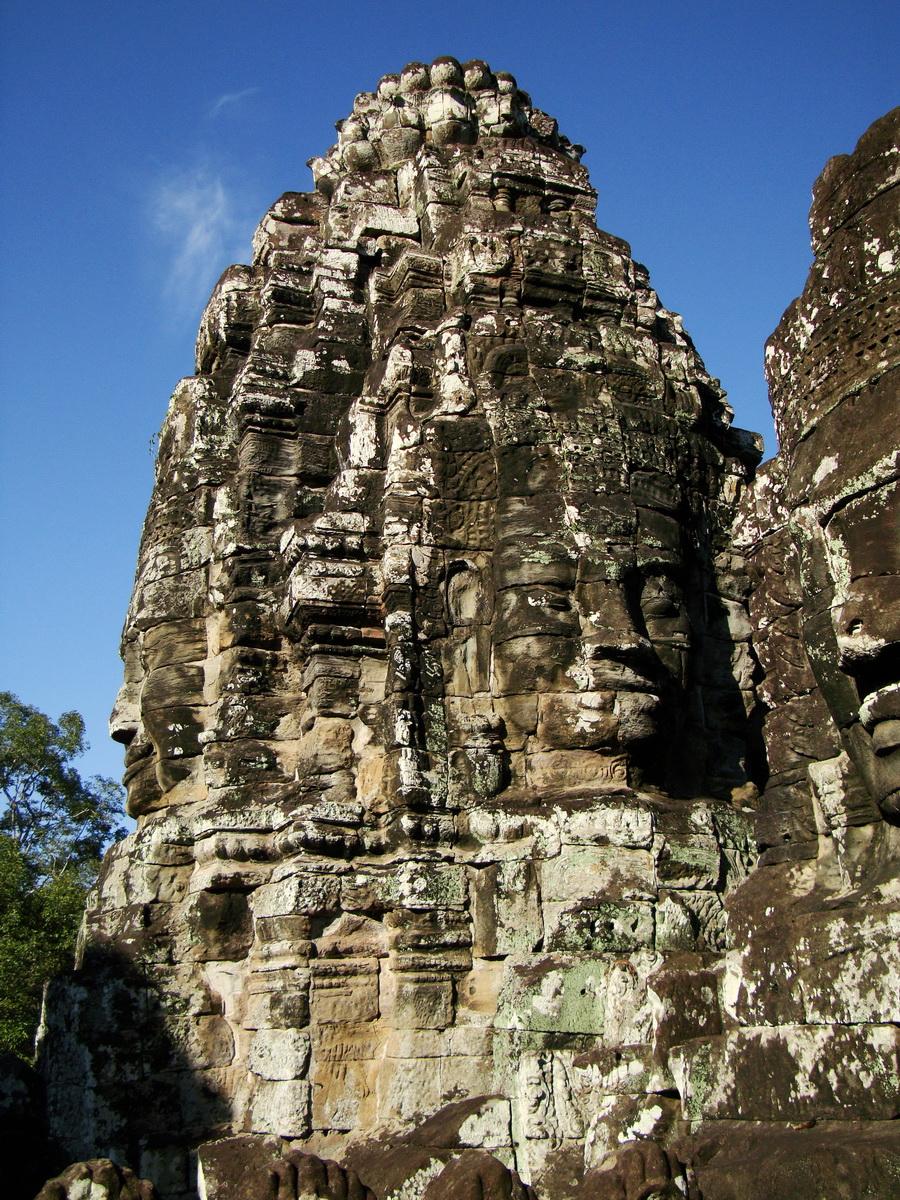 Bayon Temple various aspects face towers Angkor Siem Reap 38