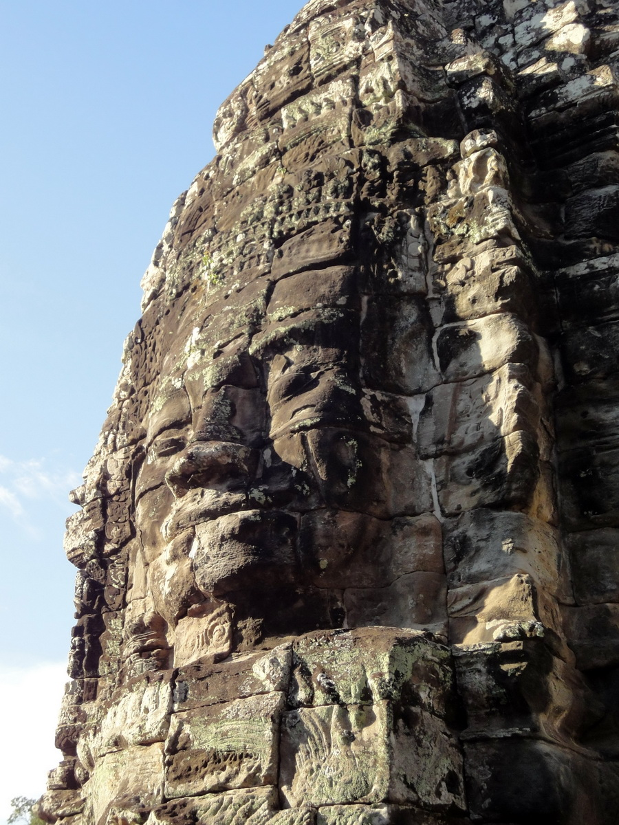Bayon Temple various aspects face towers Angkor Siem Reap 39