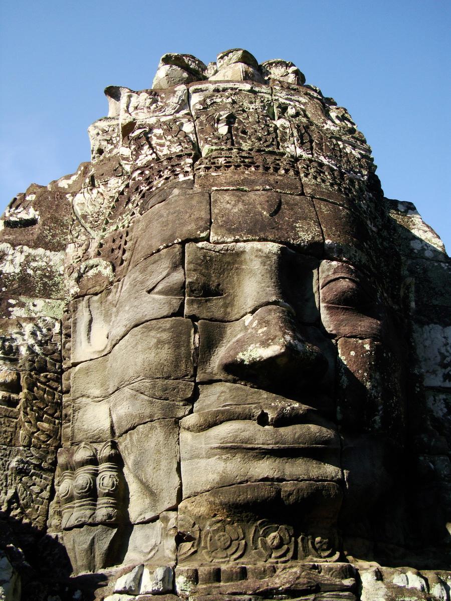 Bayon Temple various aspects face towers Angkor Siem Reap 45