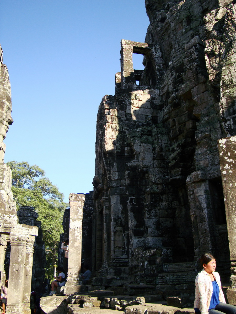 Bayon Temple various aspects face towers Angkor Siem Reap 48