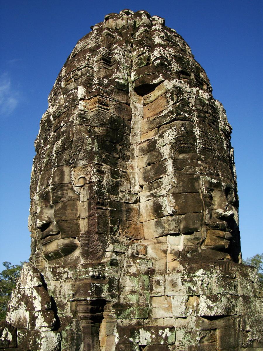 Bayon Temple various aspects face towers Angkor Siem Reap 49