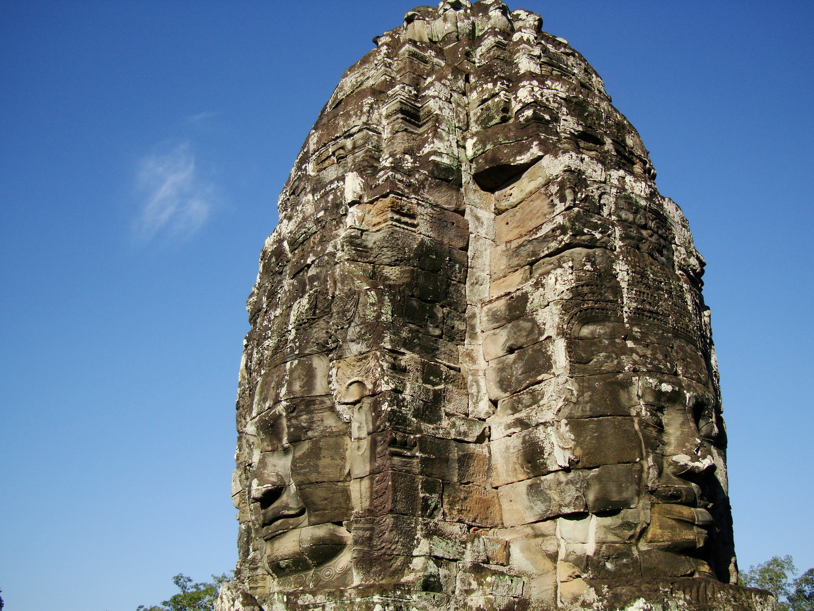 Bayon Temple various aspects face towers Angkor Siem Reap 50