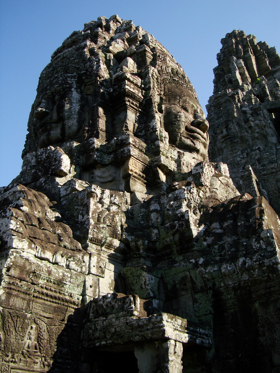 Bayon Temple various aspects face towers Angkor Siem Reap 52