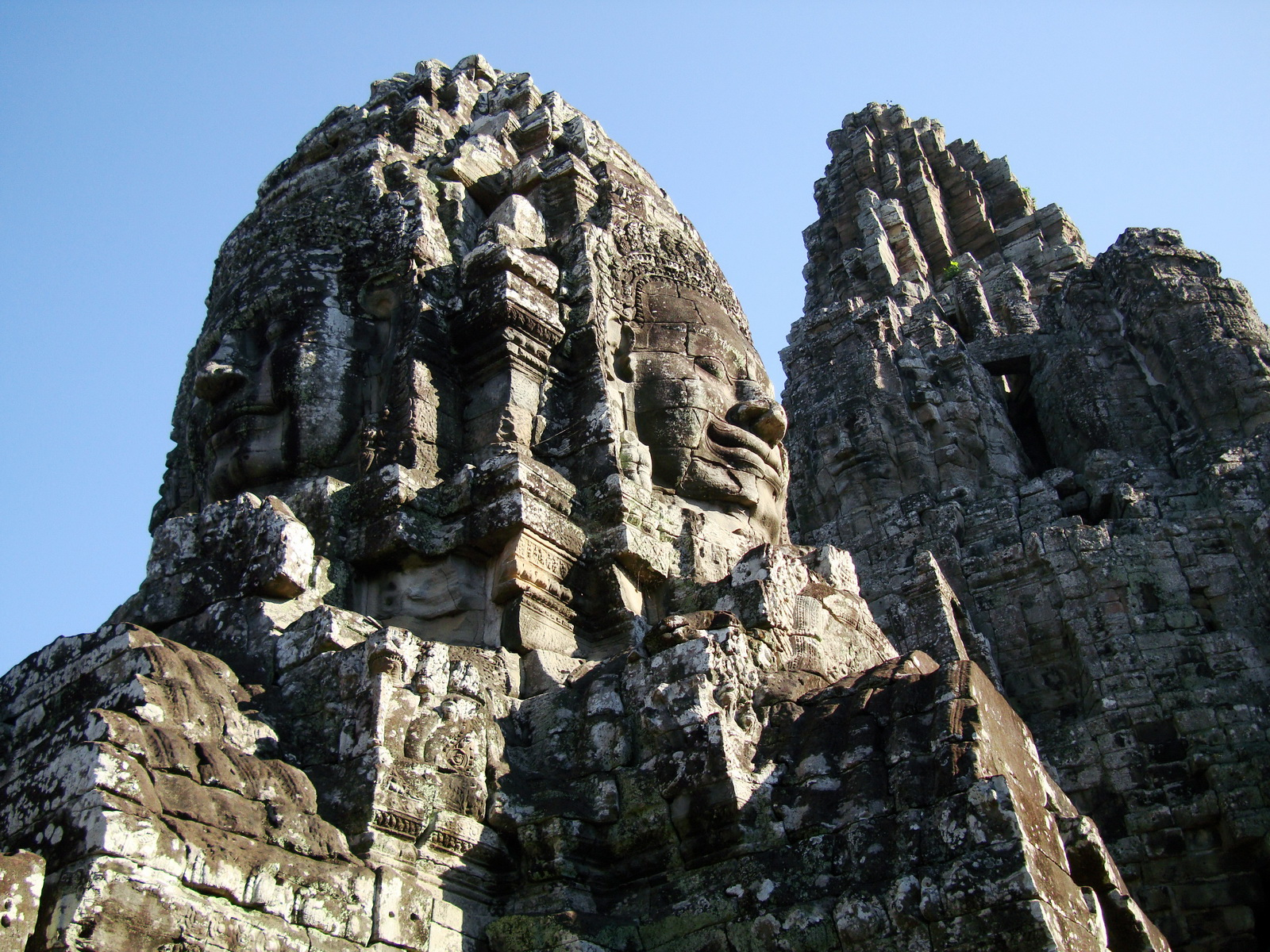 Bayon Temple various aspects face towers Angkor Siem Reap 53