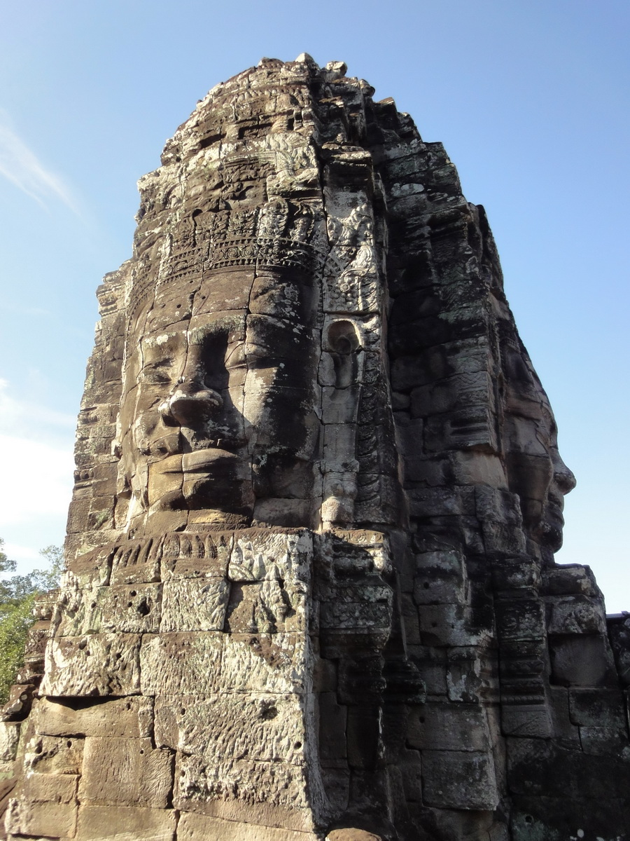 Bayon Temple western gallery inner middle face towers Angkor Siem Reap 16