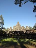Asisbiz Bayon Temple NE panoramic views of NE corner outer walls Angkor Jan 2010 02