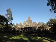 Asisbiz Bayon Temple NE panoramic views of NE corner outer walls Angkor Jan 2010 03
