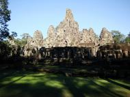 Asisbiz Bayon Temple NE panoramic views of NE corner outer walls Angkor Jan 2010 08