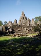 Asisbiz Bayon Temple NE panoramic views of NE corner outer walls Angkor Jan 2010 10