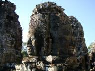 Asisbiz Bayon Temple NW inner gallery face towers Angkor Siem Reap 01