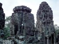 Asisbiz Bayon Temple NW inner gallery face towers Angkor Siem Reap 02