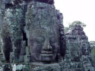 Asisbiz Bayon Temple NW inner gallery face towers Angkor Siem Reap 04