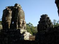 Asisbiz Bayon Temple NW inner gallery face towers Angkor Siem Reap 07