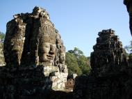 Asisbiz Bayon Temple NW inner gallery face towers Angkor Siem Reap 08