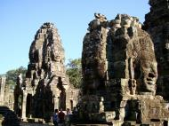 Asisbiz Bayon Temple NW inner gallery face towers Angkor Siem Reap 10