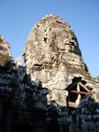 Asisbiz Bayon Temple NW inner gallery face towers Angkor Siem Reap 17